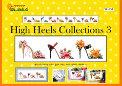 Borduurpatroon High Heels Collections 3 - Shiny Room