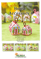 Cross Stitch Chart House Accessory 4 - Shiny Room