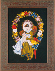 Cross Stitch Chart Lady of the Thread - TIAG Lavender & Lace