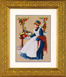 Cross Stitch Chart County Fair - TIAG Lavender & Lace
