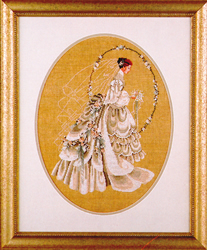 Cross Stitch Chart The Bride - TIAG Lavender & Lace