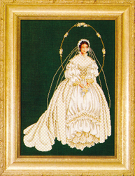 Cross Stitch Chart I Thee Wed - TIAG Lavender & Lace