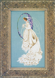 Cross Stitch Chart Spring Bride - TIAG Lavender & Lace