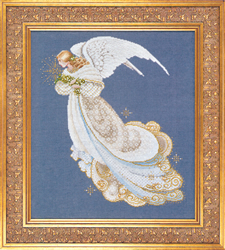 Cross Stitch Chart Angel of Dreams - TIAG Lavender & Lace