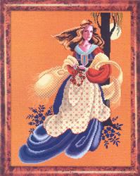 Cross Stitch Chart Evangeline - TIAG Lavender & Lace