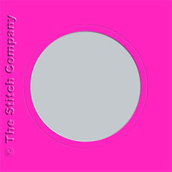 3 Aperture cards with Envelope Pink - The Stitch Company