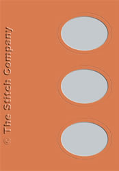 3 Aperture cards with Envelope Terra - The Stitch Company