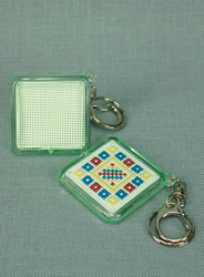 Keyring Vierkant - The Stitch Company