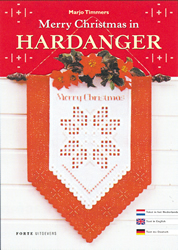 Hardangerpatroon Merry Christmas - The Stitch Company