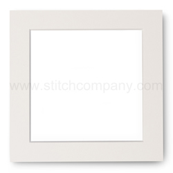 Passe-partout ivory for frame 14 x 14 cm - The Stitch Company