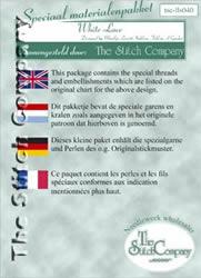 Materiaalpakket White Lace - The Stitch Company
