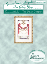 Materialkit Five Golden Rings - The Stitch Company