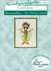 Materiaalpakket Petite Mermaid Collection - Coral Charms - The Stitch Company