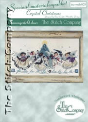 Materialkit Crystal Christmas - The Stitch Company