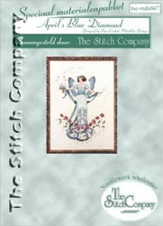 Materialkit April's Blue Diamond - The Stitch Company