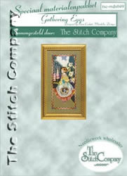 Materialkit Gathering Eggs - The Stitch Company