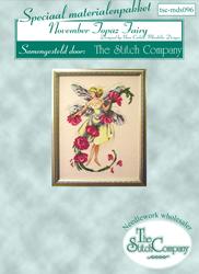 Materialkit November Topaz Fairie - The Stitch Company