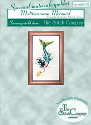 Materiaalpakket Mediterranean Mermaid - The Stitch Company