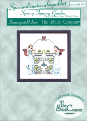 Materialkit Spring Topiary Garden - The Stitch Company