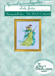 Materiaalpakket Lady Justice - The Stitch Company