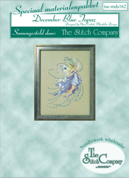 Materiaalpakket December Blue Topaz - The Stitch Company