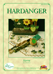 Hardangerpatroon Sierra - The Stitch Company