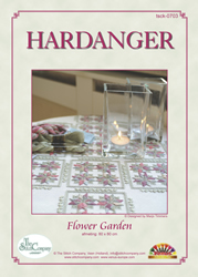 Hardangerpatroon Flower Garden - The Stitch Company