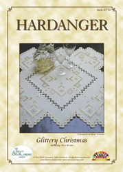 Hardangerpatroon Glittery Christmas - The Stitch Company