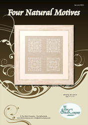 Cross Stitch Chart Four Natural Motives - The Stitch Company