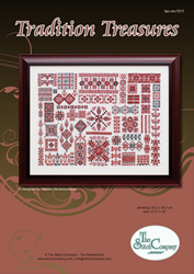 Cross Stitch Chart Tradition Treasures - The Stitch Company