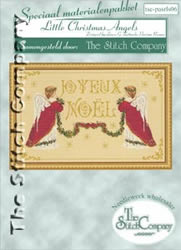 Materialkit Little Christmas Angels - The Stitch Company