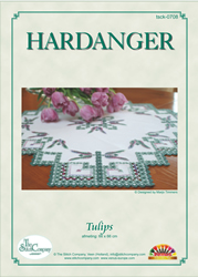 Hardangerpakket Tulips - The Stitch Company