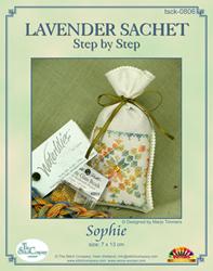 Hardanger Kit Lavender Sachet Sophie - The Stitch Company