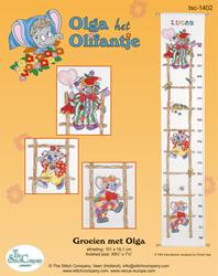 Cross Stitch Kit Groeien met Olga - The Stitch Company