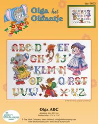 Cross Stitch Kit Olga ABC - The Stitch Company