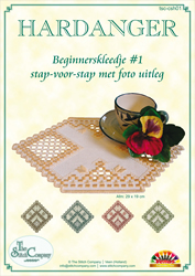 Hardanger Beginnerspakket 1 Yellow - The Stitch Company