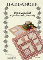 Hardanger Beginnerspakket 1 Pink - The Stitch Company