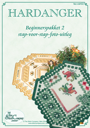 Hardanger Beginnerspakket 2 Green - The Stitch Company