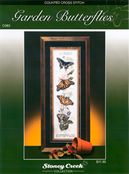 Cross Stitch Kit Garden Butterflies - The Stitch Company