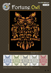 Cross Stitch Kit Fortune Owl - The Stitch Company