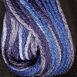Skein 6-ply Demin Blues - Valdani