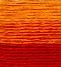Venus Embroidery Floss ombré #25 - 4