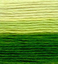 Venus Embroidery Floss ombré #25 - 13