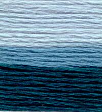 Venus Embroidery Floss ombré #25 - 16