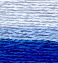 Venus Embroidery Floss ombré #25 - 17