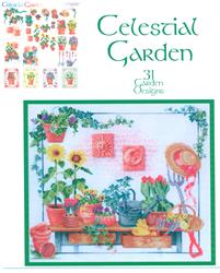 Cross Stitch Chart Celestial Garden - Vermillion Stitchery