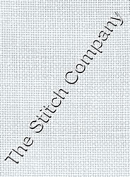 Fabric Cashel Linen 28 count - White - Zweigart