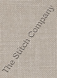 Fabric Cashel Linen 28 count - Platinum - Zweigart