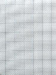 Stoffen Easy Count Aida 14 ct, White 110 cm - Zweigart