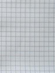 Stoffen Easy Count Lugana 25 ct, White 140 cm - Zweigart